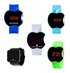 Creator Touch Led Screen Combo Digital Watch - For Boys, Men, Girls, Couple
