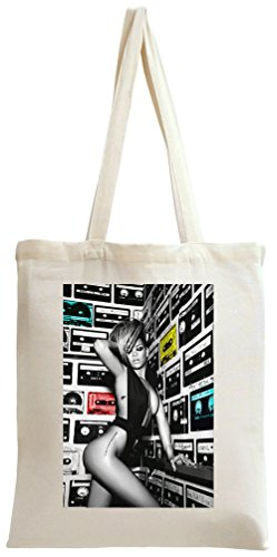 rihanna-cassette-on-the-wall-tote-bag