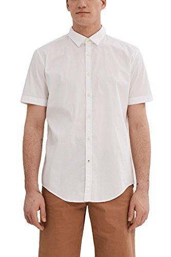 Esprit 997ee2f804, Chemise Casual Homme Blanc (White)