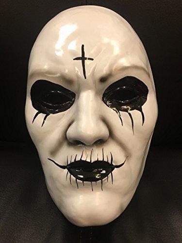 THE PURGE ANARCHY 'Kreuz' Film Maske mit Gummiband