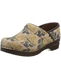 8a609ff81d1 Amazon.es  Piel - Zuecos   Zapatos para mujer  Zapatos y complementos
