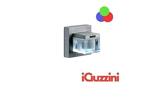 Iguzzini bc glim cube led rgb cambia colore applique parete
