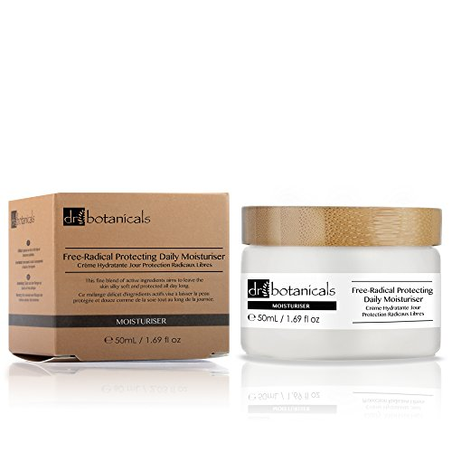 Dr Botanicals DBFRPDM2 - Crema hidratante de día de protección contra radicales libres, 50 ml