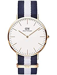 Daniel Wellington Men s Quartz Watch Classic Glasgow 0104DW with Plastic  Strap befd49d545
