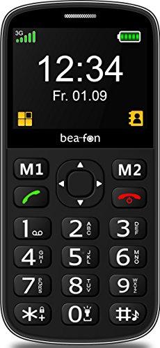 Image of Beafon Handy mit 3G SL340i (Bluetooth, Freisprechfunktion und Vibrationsalarm) Schwarz