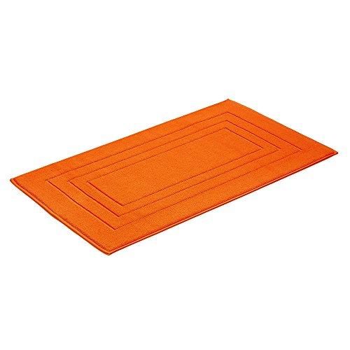 Vossen Badteppich Feeling orange 60x100 cm
