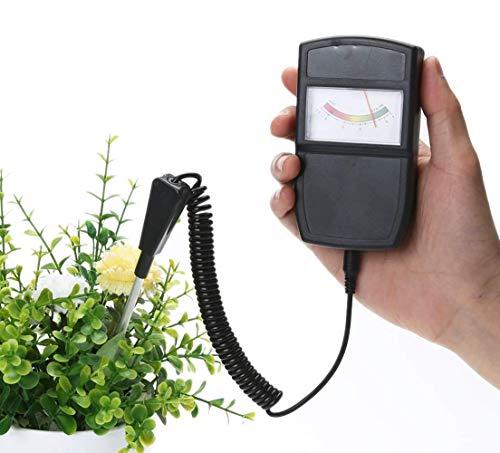 Jackson Wang Boden pH-Messgerät Tester Meter, Boden-Test-Kit für PH, ideal für Garten, Landwirtschaft, Indoor, Outdoor (Keine Batterie erforderlich)