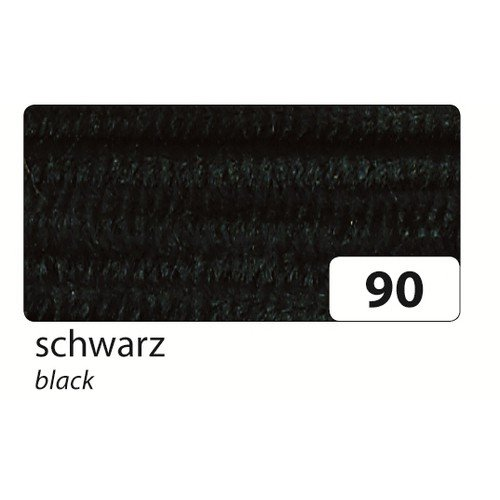 FOLIA BRINGMANN - FIBRA DE CHENILLE (8 MM)  COLOR NEGRO