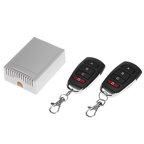 Vanpower 12V 4CH Relay Wireless Remote Control LED Lamp Switch Transceiver 433MHz Control Transceiver