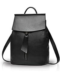 Preisvergleich für Honeymall Damen Rucksack Leder Daypack Synthethisch Leder Rucksack Schulrucksack Shopper Schulter Tasche Backpack