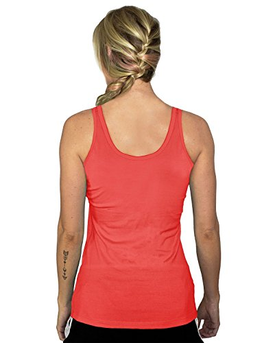 woolx Damen Rita Tank Top Spiced Coral