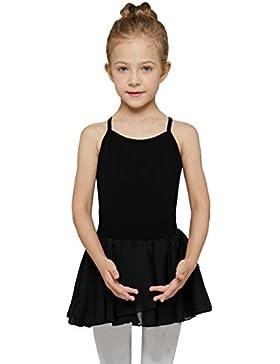 Mdmmd Mädchen Skirted Leibchen Ballettkleid