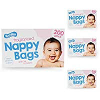 Nappy bags Jumbo Box Original- 4 x 200 pack (800 in total) - ukpricecomparsion.eu