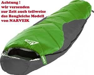 R Norskskin Umea Mumienschlafsack Schlafsack Comfort bis 0 Grad ...