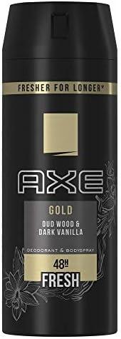 Axe Bodyspray for Men Gold, 150 ml