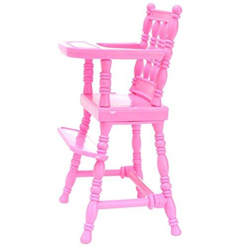 AchidistviQ Esszimmerstuhl für Barbie-Puppe, Spielzeug, Haus, Kinder, Puppenhaus, -