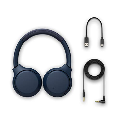 Sony WH-XB700 Wireless Extra Bass Headphones (Blue) Image 5
