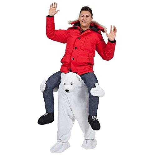 Disfraz a hombros Oso Polar Adulto