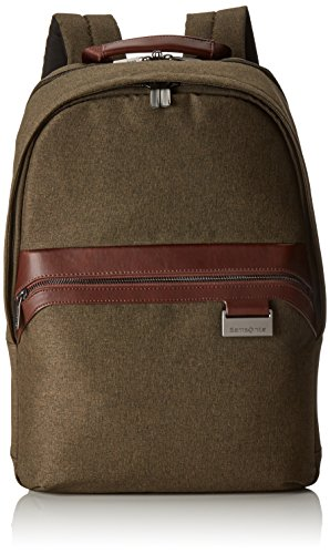 Samsonite Upstream Mochila Tipo Casual para Portátil, 44 cm, 27 L, Color Marrón (Natural)