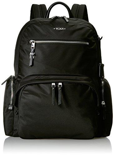 Tumi Voyageur Carson Backpack Mochila Tipo Casual, 43 cm, Negro (Black/Silver)