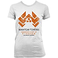 9153Lw Nakatomi Towers Donna T-Shirt Die Hard Bruce Willis Tower Plaza Los Angeles