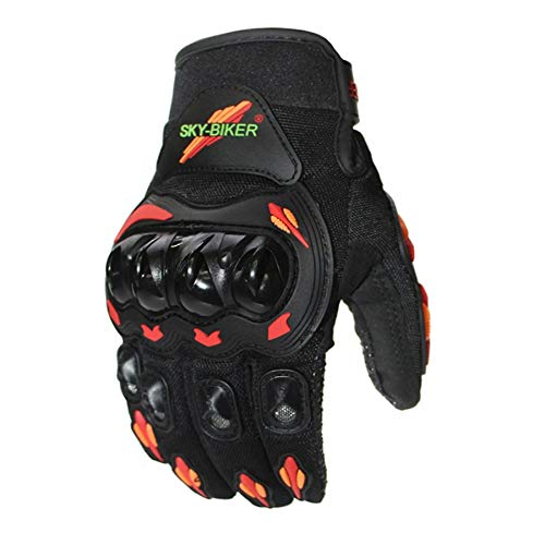 MJTCJY Kawasaki Motorrad-Handschuhe Motocross Guantes Moto Motocicleta Luvas Radfahren Mountainbike-Handschuhe Motorrad-volle Finger-Handschuhe (Color : 3, Size : XXL)