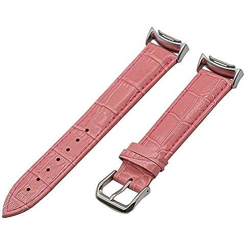 TRUMiRR Fascia del Cuoio Genuino Croco Grano Cinturino con Adattatori per Samsung Gear S2 SM-R720 SM-R730