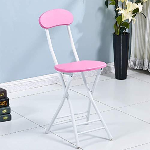 RUIX Klappstuhl - Home Dining Stuhl/Stuhl/Training Stuhl/Studentenschlafsaal Stuhl/Einfache Computer Stuhl/Falten,E