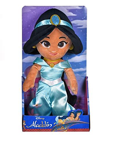 Posh Paws 37279 Disney Princess Jasmin Weichpuppe in Geschenkbox, Mehrfarbig