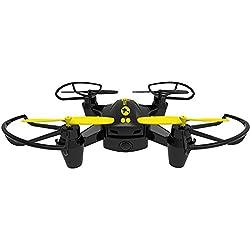 Twodots TDFT0003 dron con cámara - drones con cámara (Negro, Amarillo, Hacia atrás, Adelante, Turn left, Turn right, Polímero, AA)