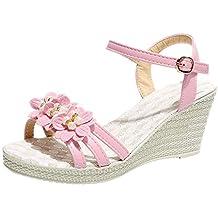 Btruely Zapatos de Mujer❤ Zapatos Modos de cuñas Zapatos para Caminar al Aire Libre