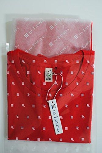 #Seventeen - Maglietta Hashtag per Ragazze, Regalo di Compleanno per 17 Anni Rosso