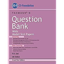 Question Bank with Model Test Papers (CS-Foundation)(As per New Syllabus)