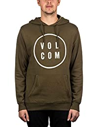 Volcom Daily Pullover Fleece Hood Military