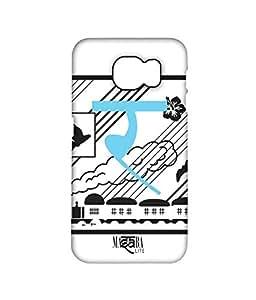 Masaba Alphabet R - Pro Case for Samsung S6 Edge Plus