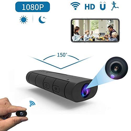 Futursd Mini WiFi Kamera, Wireless Nanny Camera HD 1080P Sicherheitskamera für Home Nanny Cam mit Night Vision Motion Detection für Home/Baby/Pet Night Vision Cam