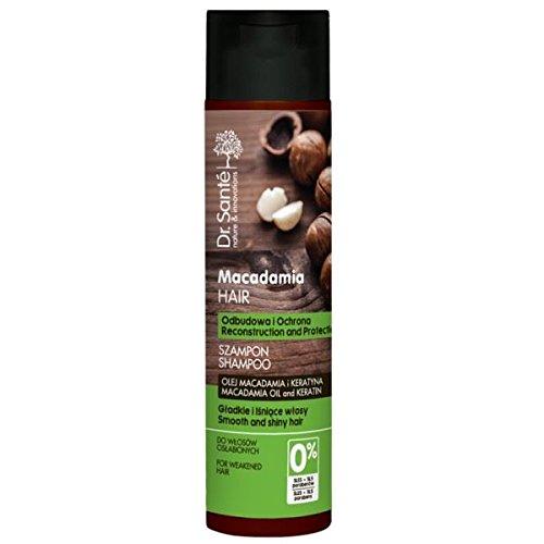 Dr.Sante Natural Macadamia Shampoo for Weakened Hair Keratin 250ml