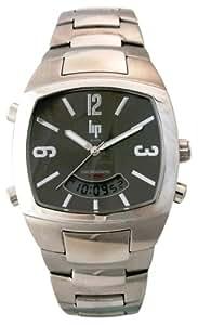 Lip - 1040312 - Montre Homme - Multifonction - Quartz Analogique et Digitale - Bracelet Acier