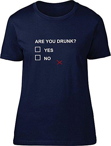Are You Drunk maglietta da donna Navy XL 44/46