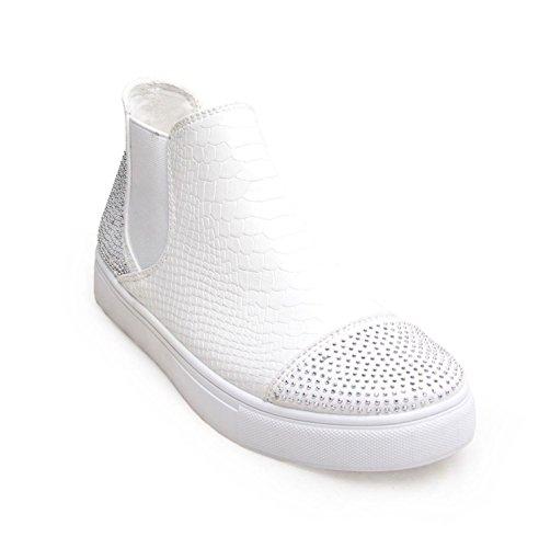 FLIRTY WARDROBE , Baskets mode pour femme Blanc