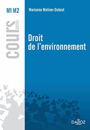 Droit de l'environnement - 1re édition