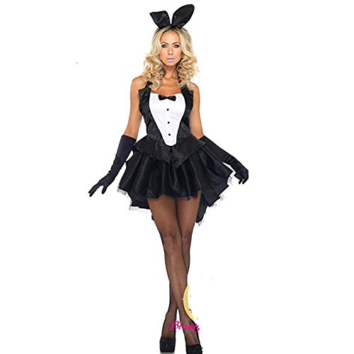 Kostüm Bunny Übergröße - Halloween Cosplay Kostüm, Sexy Dessous Halloween Weihnachten Club Rolle Spielt Bunny Kostüme