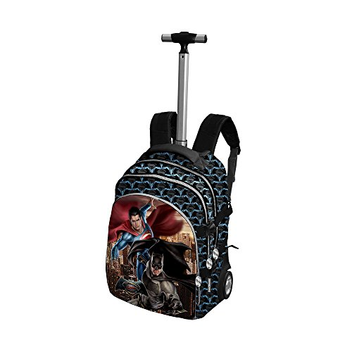 Batman y Superman - 52873 - Mochila carro con ruedas