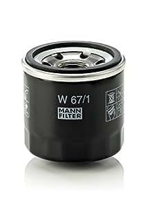 Mann+Hummel W671 Filtre à huile