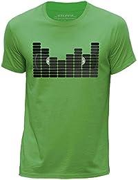 STUFF4 Men's Round Neck T-Shirt/Equalizer/VHS Tape/CS