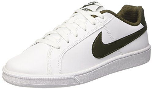 Nike Court Royale Scarpe da Ginnastica, Uomo, Bianco (White/Cargo Khaki), 43