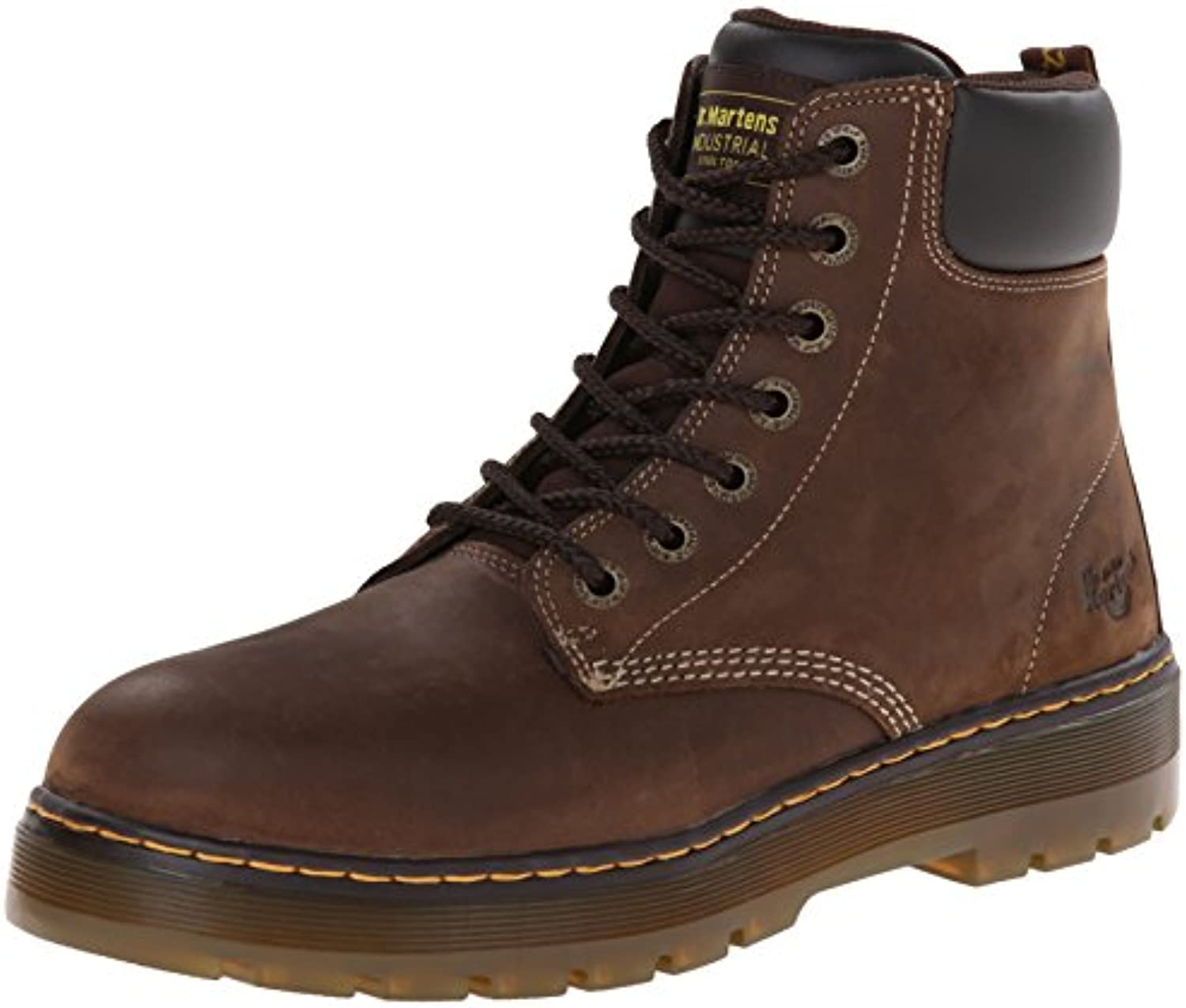 Dr. Martens Men's Winch 7 Eye Cushion Safety Toe Boot