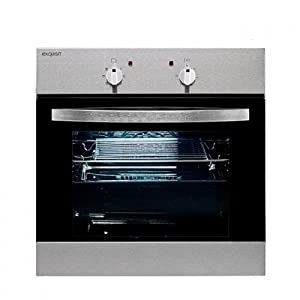Exquisit EBE555-1U Einbau-Elektro-Backofen/A / 0.79 kWh / 55 L/Inox