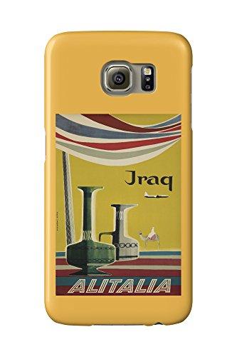 alitalia-iraq-vintage-poster-artist-molinari-italy-c-1955-galaxy-s6-cell-phone-case-slim-barely-ther