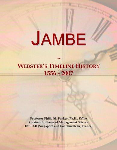 jambe-websters-timeline-history-1556-2007